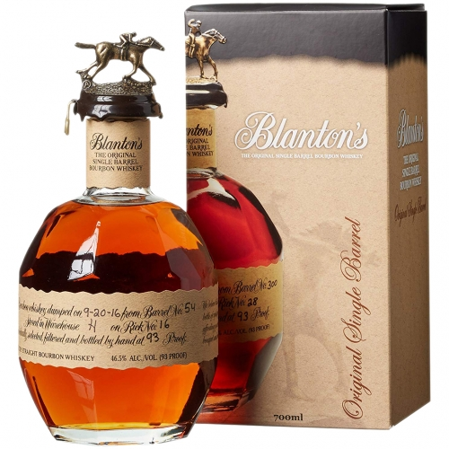 Blanton's Single Barrel  Bourbon 0,7L 46,5% + kartonik