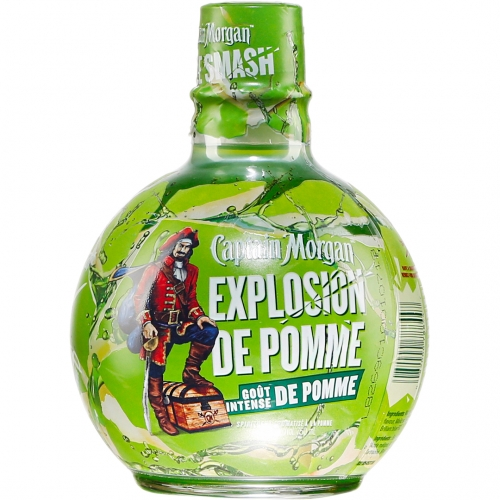 Captain Morgan Apple Smash Rum 0,75L 30%