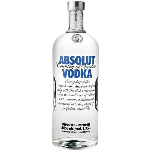 Absolut Blue Wódka 1,75L 40%
