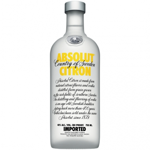 Absolut Citron Wódka 0,5L 40%