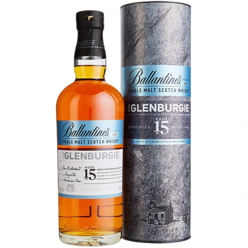 Ballantine's The Glenburgie 15YO Whisky 0,7L 40% +tuba