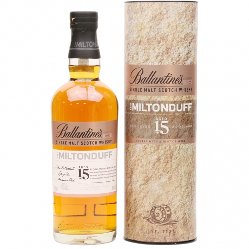 Ballantine's The Miltonduff 15YO Whisky 0,7L 40% +tuba